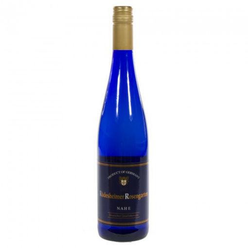 Picture of Rudesheimer Rosengarten Royal Blau Wit 75cl Fles